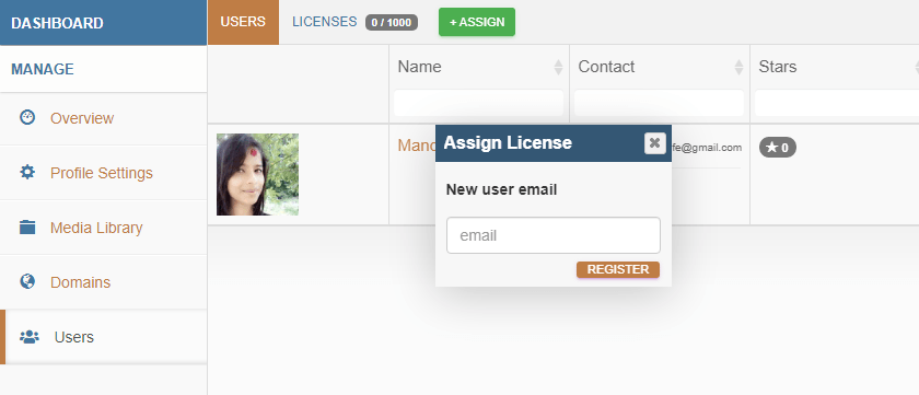 Assign Managed User