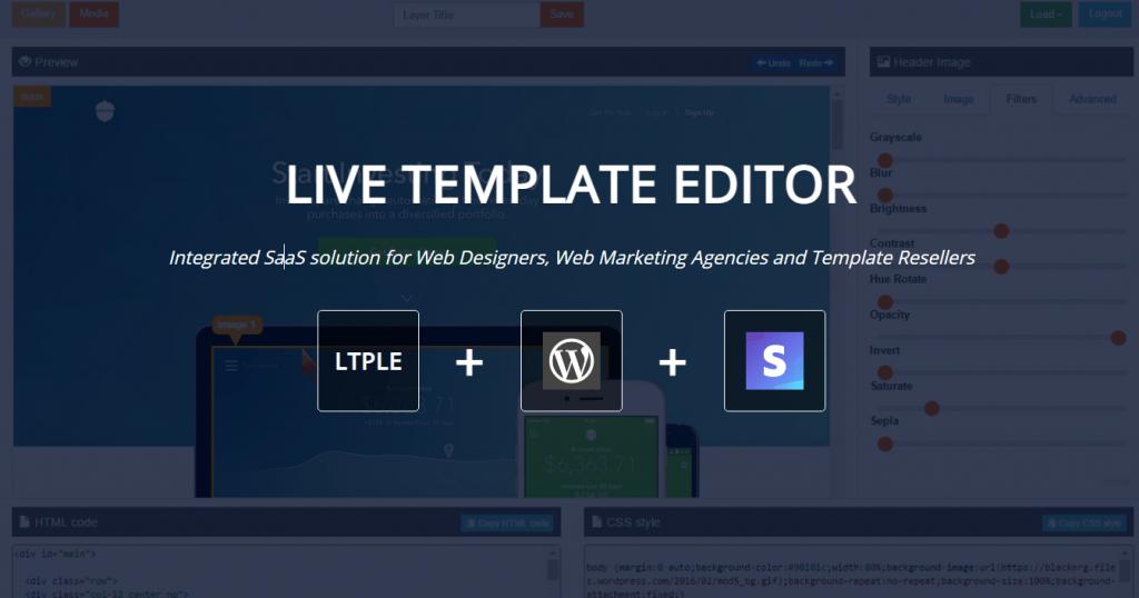 Live Template Editor